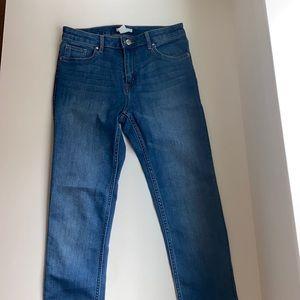 H&M skinny jeans medium wash